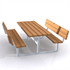 Bänkbord dubbel