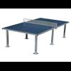 Bordtennisbord, för utomhusbruk stålnät