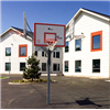 Streetbasket, Centerbasket Med 4 st underhållsfria plattor