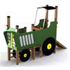 Tress Lekplats Traktor grön