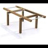 Wooden Fitness, Axelpress 710833