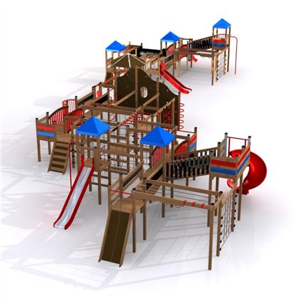 Pioneer lekplats-serie
