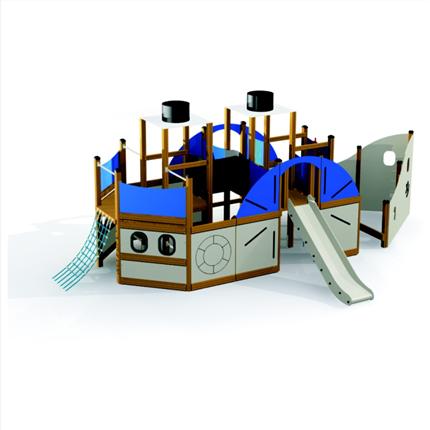Discovery lekplats-serie, Ångbåt
