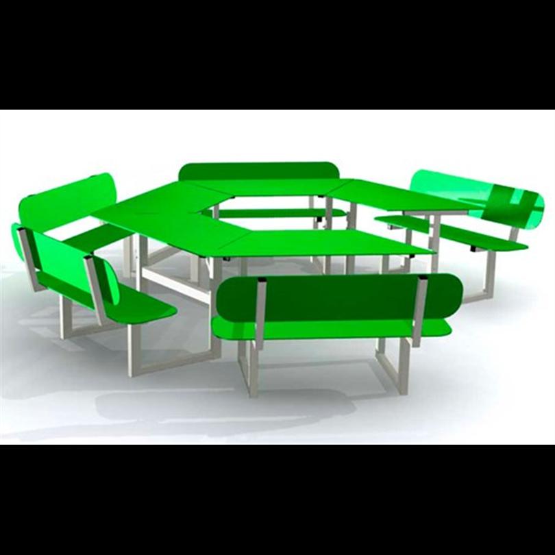 Bänkbord Tillgänglighetsanpassat (HPL)