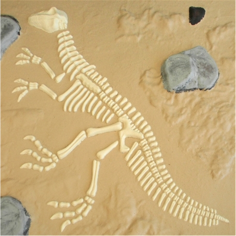 Dinosaurieskelett 720050