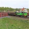 TerraWing vingfundament för bullerskärmar längs järnvägsspår