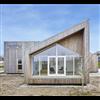 Kebony fasadbeklädnad på Biologiska huset, Middelfart, Danmark