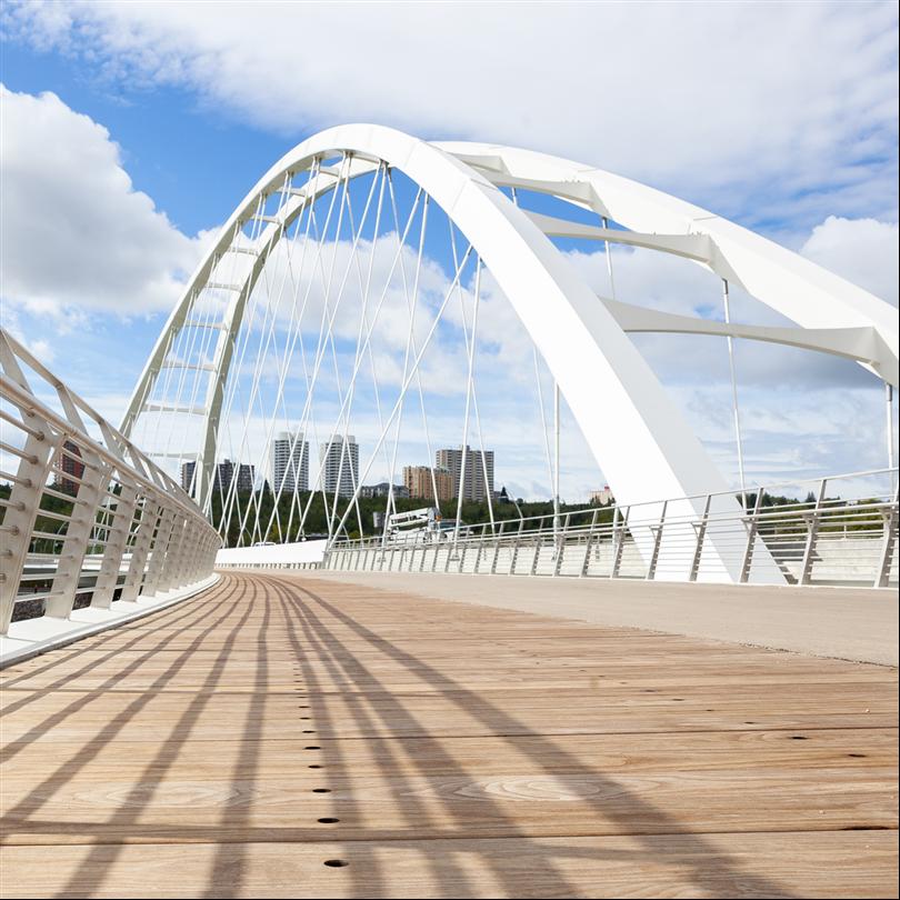 Kebony Walterdale-bron trädäck