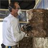 Knauf EcoBlanket isoleringsrulle av glasfiber mellan träreglar