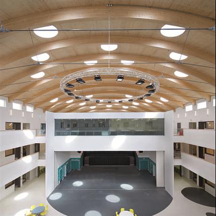 KLH massivträelement för tak- och brokonstruktioner
