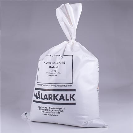 Lufthärdande kalk - Kulekalkbruk K1:3