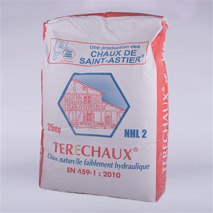 Saint-Astier NHL-bruk - naturligt hydraulisk kalk