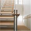 ABC Solutions rak trappa med trästeg, inomhus