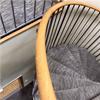 ABC Solutions spiraltrappa med steg för matta