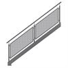 ABC Solutions Varia T räcke för raka trappor, inomhus