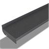 ABC Solutions Steg av försänkt plåt för montage av linoleum- eller annan matta för raka trappor, inomhus