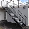 Rak trappa för bostadsrätter