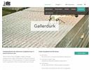 Gallerdurk på webbplats