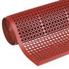 Sanitop Light allroundmatta i ringdesign, röd