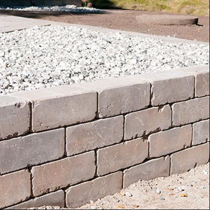 Våxtorps Basic/Slottsmur mursten