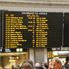 Westerstrand Informationstavla, Stockholms Centralstation