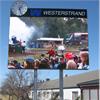 Westerstrand Informationstavlor med grafisk text
