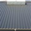 Plannja 35 profilerad aluminiumplåt på tak