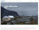 Plannja pannplåt på webbplats