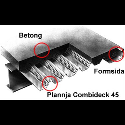 Combideck 45 samverkansbjälklag