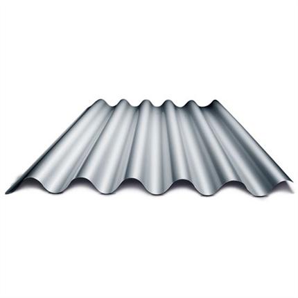 Plannja Sinus 51, profilerad aluminiumplåt