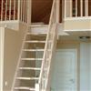 ATAB design Spartrappan Angelstad, vitbetsad furu
