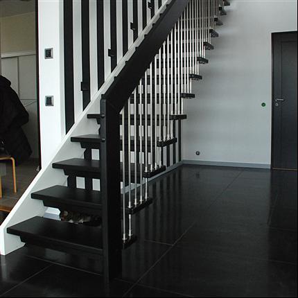 ATAB design WF trätrappor, ek, Skogås