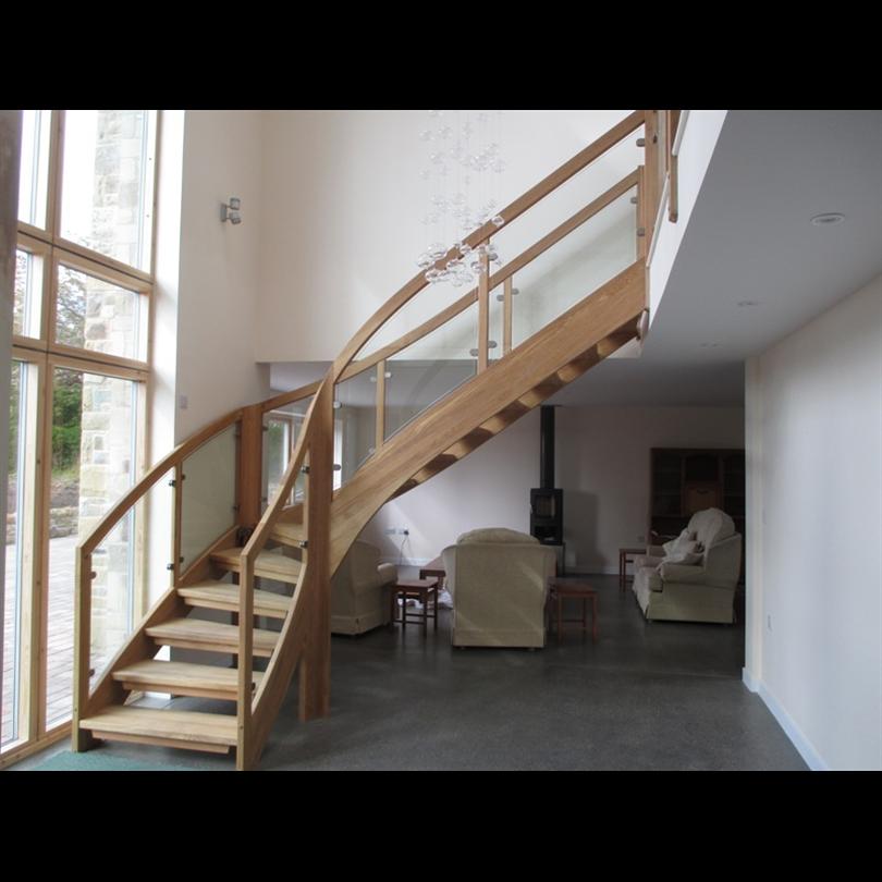 ATAB design Tradition trätrappa