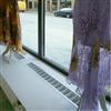Kåbe konvektorgaller, i ett skyltfönster
