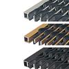 Kåbe Originalmatta, naturaluminium, svart- resp guldanodiserad