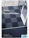 Produktblad Gummimattor