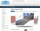 Original Kulör skrapmattor på webbplats