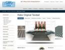 Original tandade skrapmattor på webbplats