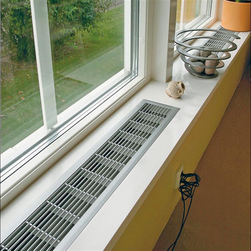 Konvektorgaller för fönsterbänkar