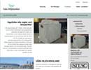 Falu Miljötankars webbplats