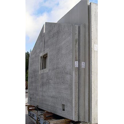 Grönvallens betongväggar