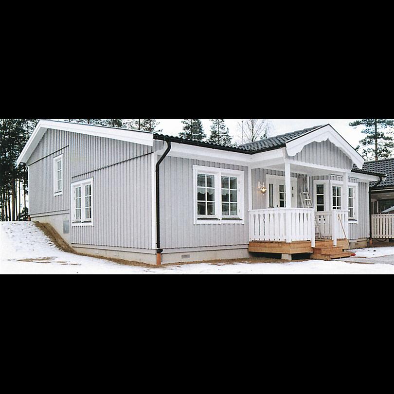 Villa byggd på Flexigrund
