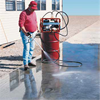 Lindec Lindolit® S krympspärr sprutas på betong