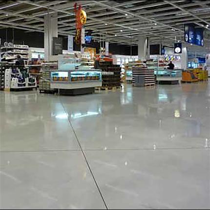 Betongsåpa, rengöring för betong och polerade ytor