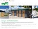Danfo Tetragon toalettbyggnad