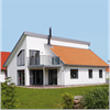 VIVIX fasadskivor från Formica Group - bostadshus, Glommen, Falkenberg