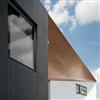 Formica Group VIVIX® fasadskivor, Diamond Black