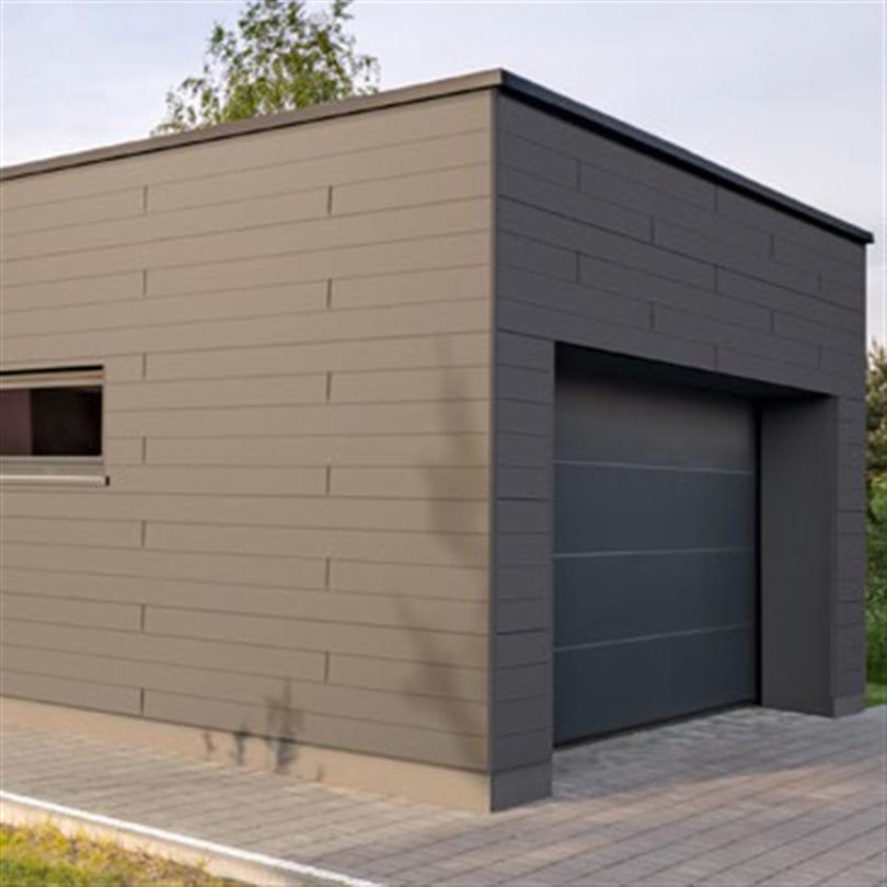 VIVIX® Lap-plankor på garage