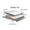 Flexible Office installationsgolv GP600A + AS