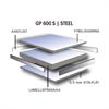Flexible Office installationsgolv GP600S steel